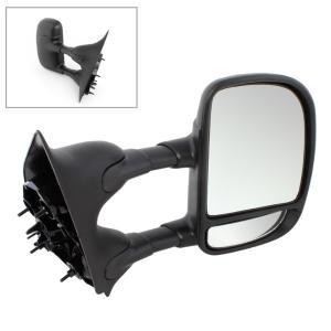 02-07 Focus Manual Remote Black Non-Fold Rear View Mirror Right Passenger Side R