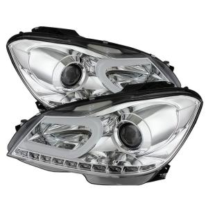 Mercedes C-class Headlights at Andy's Auto Sport