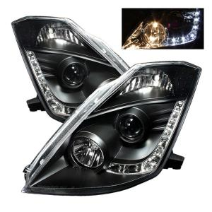 03 05 Nissan 350z Spyder Hid Version Led Drl Daytime Running Lights