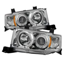 2004-2007 Scion Xb Spyder Halo Projector Headlights - Chrome