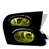 2001-2003 Honda Civic Spyder Auto Fog Lights - OEM (Yellow)