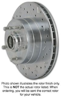 1983-1989 BMW M6 SSBC Disc Brake Rotor (Left Rear)
