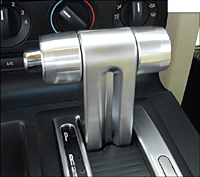 S197 Automatic Mustang Steeda Autosports Shift Knobs - Bezel Shift Knob Kit S197 (Automatic)