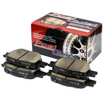 88-91 Civic StopTech Posi-Quiet Ceramic Brake Pads - Front