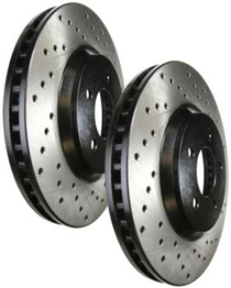 2000-2003 Bmw 530I, 540I, 540I Touring (E34, E39) StopTech Sportstop Drilled Rotor - Front Left
