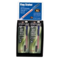 2007-9999 Saturn Aura Streamlight US Flag Stylus 12 Piece Display