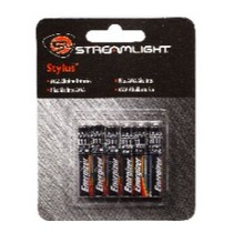 2004-2005 Suzuki GSX-R600 Streamlight AAAA Battery Clip Strip Display