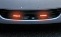 1982-1992 Pontiac Firebird Streetglow Led Fog Lights-Neo Blue