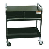 1970-1972 Pontiac LeMans Sunex Service Cart With Locking Top and Drawer - Black