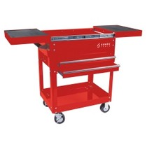1984-1986 Ford Mustang Sunex Compact Slide Top Utility Cart - Red