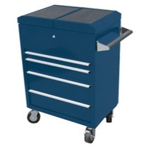 1987-1995 Isuzu Pick-up Sunex 4 Drawer, Sliding Top Hybrid Utility Cart