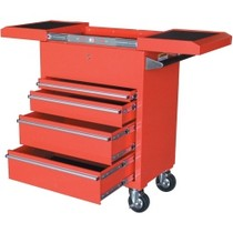 1984-1986 Ford Mustang Sunex Hybrid Utility Cart, Red