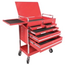 1993-1997 Mazda Mx-6 Sunex Professional Duty 5 Drawer Service Cart