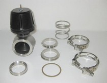 All Vehicles (Universal) Synapse 50mm Synchronic Wastegate with Flanges (Black)