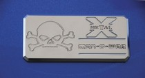2001-2003 Mazda Protege T-Rex Man-O-War Series - Body Side Badges - 1 Piece - Chrome