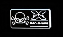 2001-2003 Mazda Protege T-Rex Man-O-War Series - Body Side Badges - 1 Piece - Black/Machine