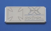 2001-2003 Mazda Protege T-Rex Rebel Series - Body Side Badges - 1 Piece - Chrome