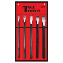 1992-1995 Porsche 968 T and E Tools 5 Piece Long Cold Chisel Set