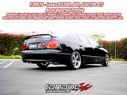 for Lexus GS300 98-03 Megan Racing Down Pipe
