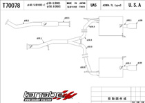 Exhaust Systems For Acura Tl At Andys Auto Sport - Acura tl exhaust system