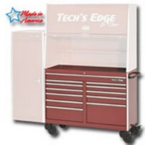 2002-2002 Lincoln Blackwood Tech Roll Cabinet - Red