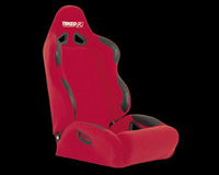 1983-1991 Ford LTD_Crown_Victoria Tenzo-R Racing Seat - Rally-2  Driver (Red)
