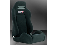 2002-2004 Volvo S40 Tenzo-R Racing Seat - Type-R (Black)