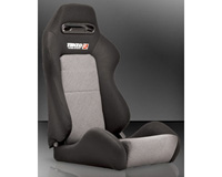 2004-2005 Honda Civic Tenzo-R Racing Seat - Type-R Evolution (Black)