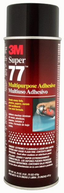 1964-1967 Chevrolet El_Camino The Install Bay Super 77 Spray Adhesive (24 Fl Oz/16 Net)