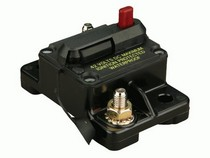 1965-1967 Ford Galaxie The Install Bay 100 Amp Manual Reset Red Button Circuit Breaker