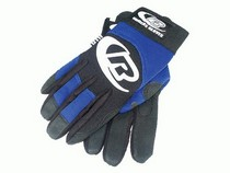 1997-2003 BMW 5_Series The Install Bay Mechanics Style Blue Gloves (X-Large)