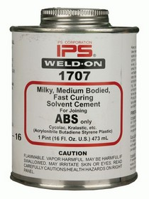 2008-9999 Pontiac G8 The Install Bay Weld - On #1707 Abs Cement (16 Oz)