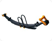 nissan frontier lifted leaf springs at andy 39 s auto sport. Black Bedroom Furniture Sets. Home Design Ideas