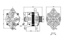 04 08 Chevy Aveo 1 6l L4 Type 6s D