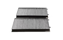 2006-2008 BMW 7_Series Top Deal Cabin Air Filter - 2-Pieces (Carbon Type)