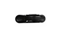 02-08 Ford Explorer, 02-08 Mercury Mountaineer Top Deal Door Handle - Right Side (Without Key Hole) (Smooth Black, Outside-Front)