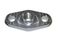 All Vehicles - (Universal) Torque Solution Billet Oil Feed Inlet Flange: Universal T3/T4 Turbos