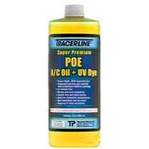 1966-1970 Ford Falcon Tracer Products 32 oz. bottle POE A/C Oil With UV Dye