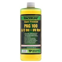 1973-1977 Pontiac LeMans Tracer Products 32 oz. Bottle PAG 100 A/C Oil With Dye