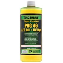 1973-1977 Pontiac LeMans Tracer Products 32 oz. Bottle PAG 46 A/C Oil With Dye