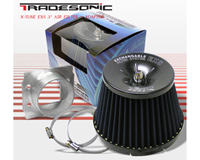 "1980-1987 Audi 4000 Tradesonic Air Filter - X-Tune 3"" Filter w/ Mass Flow Adapter (Blue)"