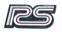 80-81 Camaro Trim Parts Restoration Part - Grille Emblem, Rs, Silver, Includes Fasteners
