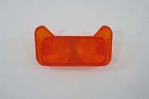 68 Chevelle Trim Parts Restoration Part - Parking Light Lens, Amber