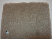 1966-1970 Ford Falcon Trim Parts Molded Carpet - Cut Pile Standard Nylon (Pearl)