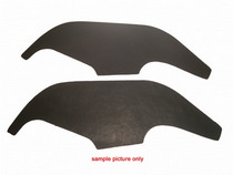 69-72 Chevelle, 69-72 El Camino, 69-72 Monte Carlo Trim Parts Weatherstripping - A-Arm Seal, Plastic Inner Fenders, pair