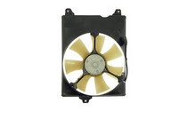 1998-2003 Toyota Sienna TYC AC Condenser Cooling Fan (W/ Shroud, W/ Motor) - Assembly (On Right Hand Side, Marked T1)
