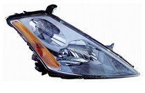 03-07 Nissan Murano TYC Headlight - Right Assembly (With Halogen Type)