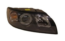 04-07 Volvo S40, 05-07 Volvo V50 TYC Headlight - Right Assembly (Halogen Type Only)