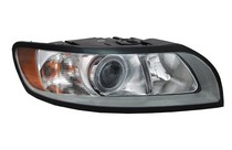 08-10 Volvo S40, 08-10 Volvo V50 TYC Headlight - Right Assembly (With Halogen Type Only)
