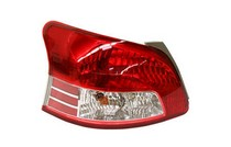 07-10 Toyota Yaris Sdn S Model TYC Tail Light - Left